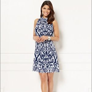 New York & Co Eva Mendes Halter Dress sz Medium